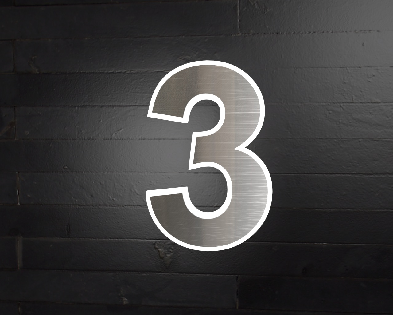 edelstahl hausnummer beleuchtete led edelstahl hausnummer 3. Black Bedroom Furniture Sets. Home Design Ideas